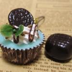 チョコミントカップケーキ