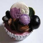 グレープ&ブルーベリーカップケーキ
