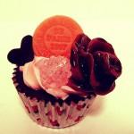 ストロベリーチョコレートカップケーキ