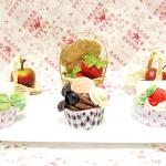 福袋その4 スイーツデコ☆福袋☆カップケーキさ3点セット♪ピンキー