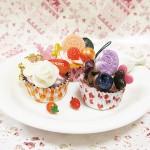 福袋その3 スイーツデコ☆福袋☆カップケーキさ3点セット♪おいしそうオレンジ