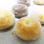 粉砂糖なドーナッツ