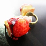 【デザフェス間近特集!】ミニケーキリング(指輪)が完成しました!