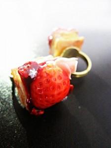 【デザフェス間近特集!】ミニケーキリング(指輪)が完成しました!-1